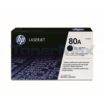 HP 80A TONER CARTRIDGE BLACK 2.7K
